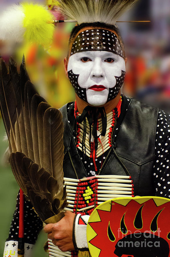 Pride Photograph - Pride Of Indigenous Culture by Bob Christopher