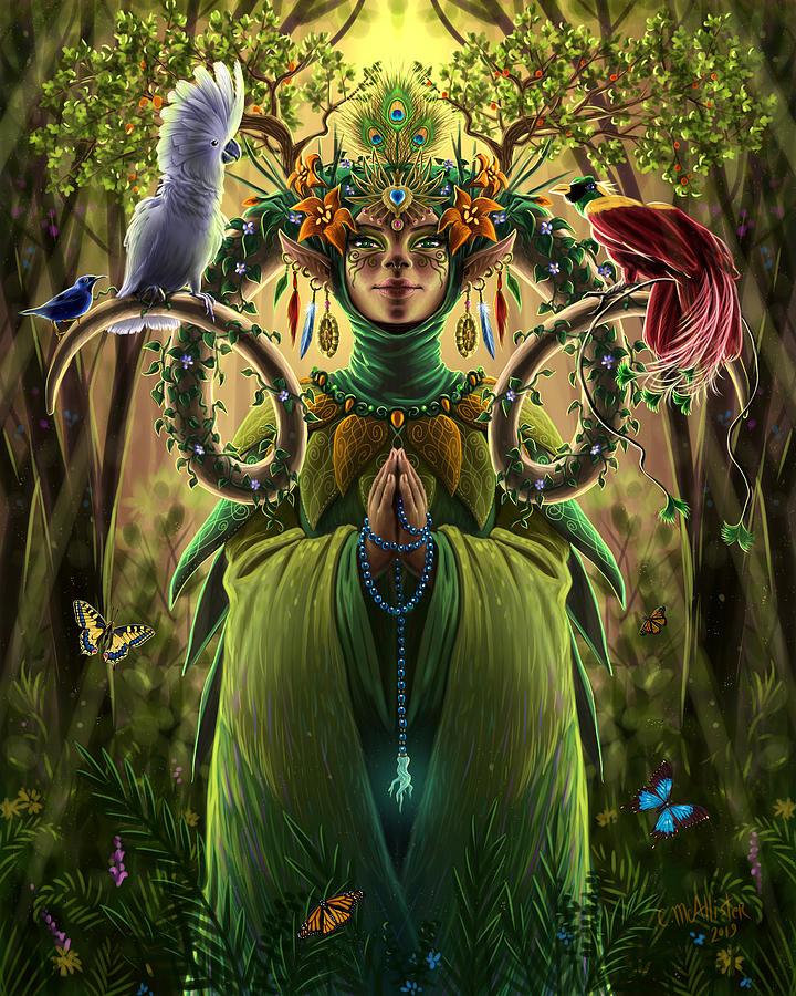 Priestess of Paradise by Cristina McAllister