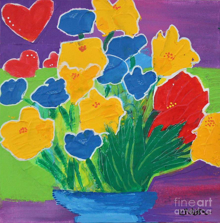Primary Bouquet by Kim Nelson