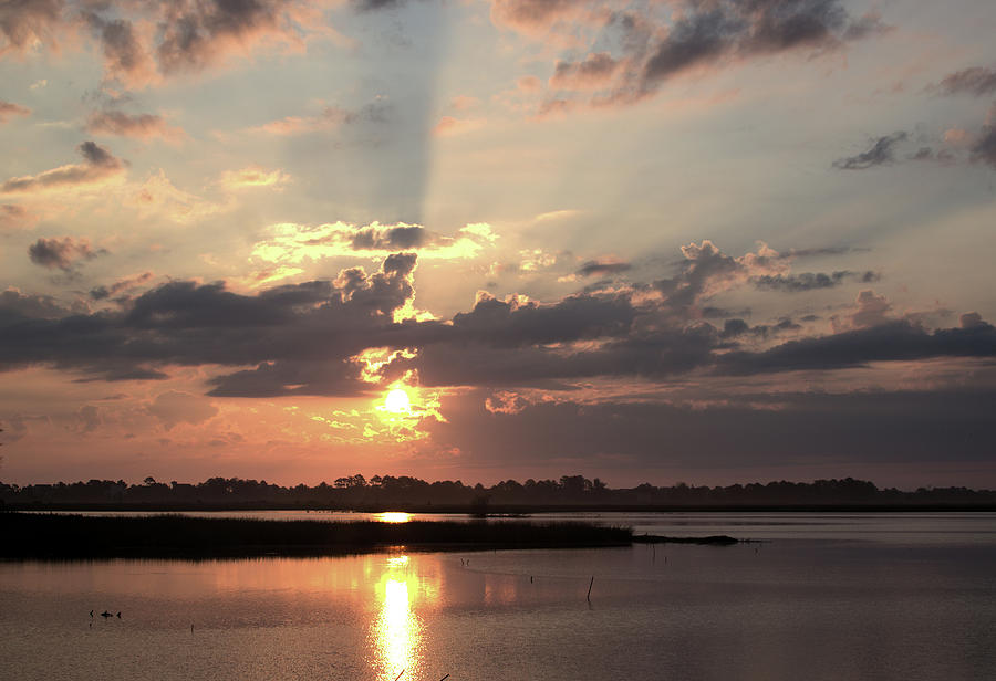 Prime Hook Sunrise 3 by Buddy Scott