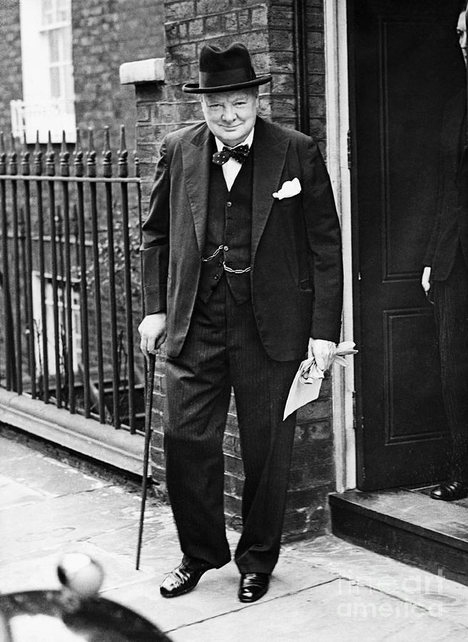 Prime Minister Sir Winston Churchill Photograph by Bettmann