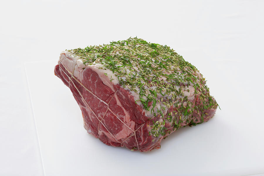 Prime Rib Of Beef Photograph by Lew Robertson, Brand X Pictures