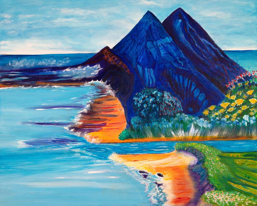 Primitive Beach by Santana Star