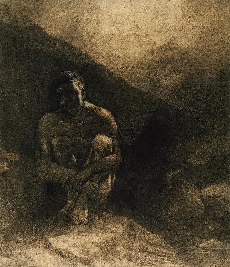 Primitive Man by Odilon Redon