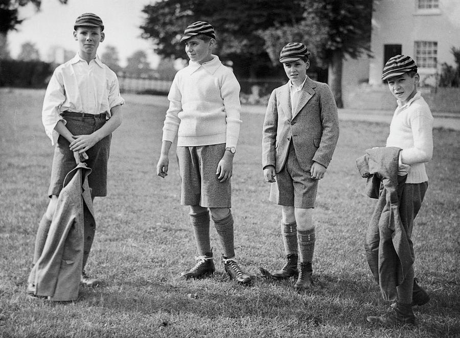 Prince Alexander Of Yugoslavia At Eton Photograph by Keystone-france