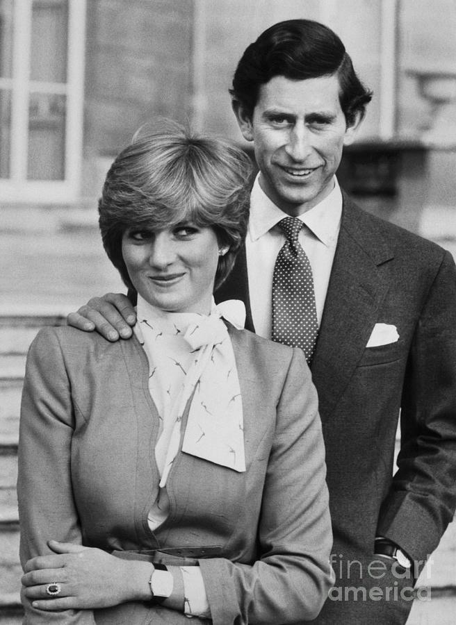 Prince Charles And Lady Diana Photograph by Bettmann