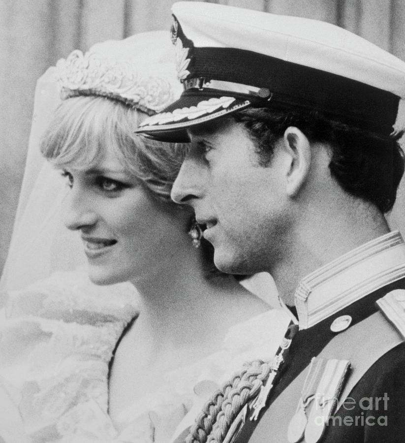 Prince Charles And Princess Diana Photograph by Bettmann