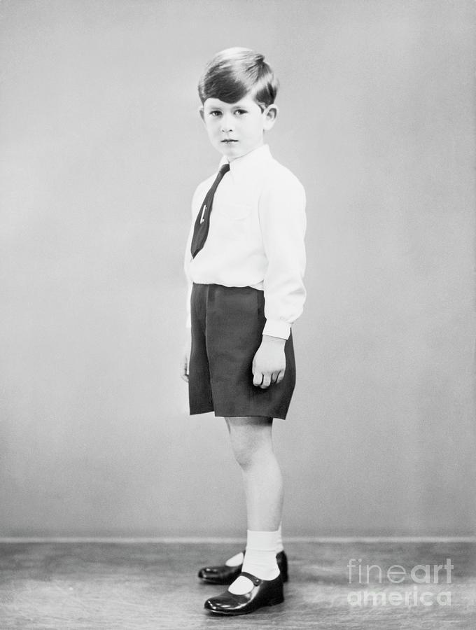Prince Charles As A Boy Photograph by Bettmann
