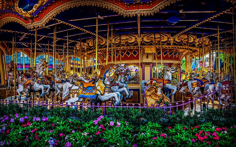 Prince Charming Carousel by Rodney Lee Williams