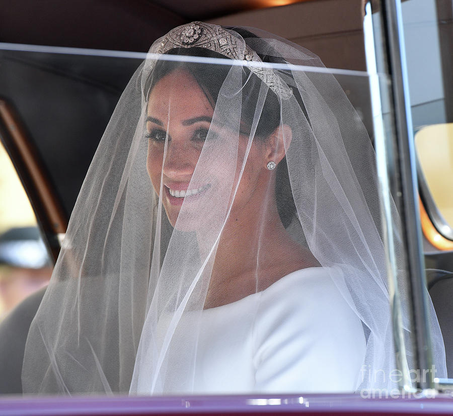 Prince Harry Marries Ms. Meghan Markle Photograph by Pool/max Mumby
