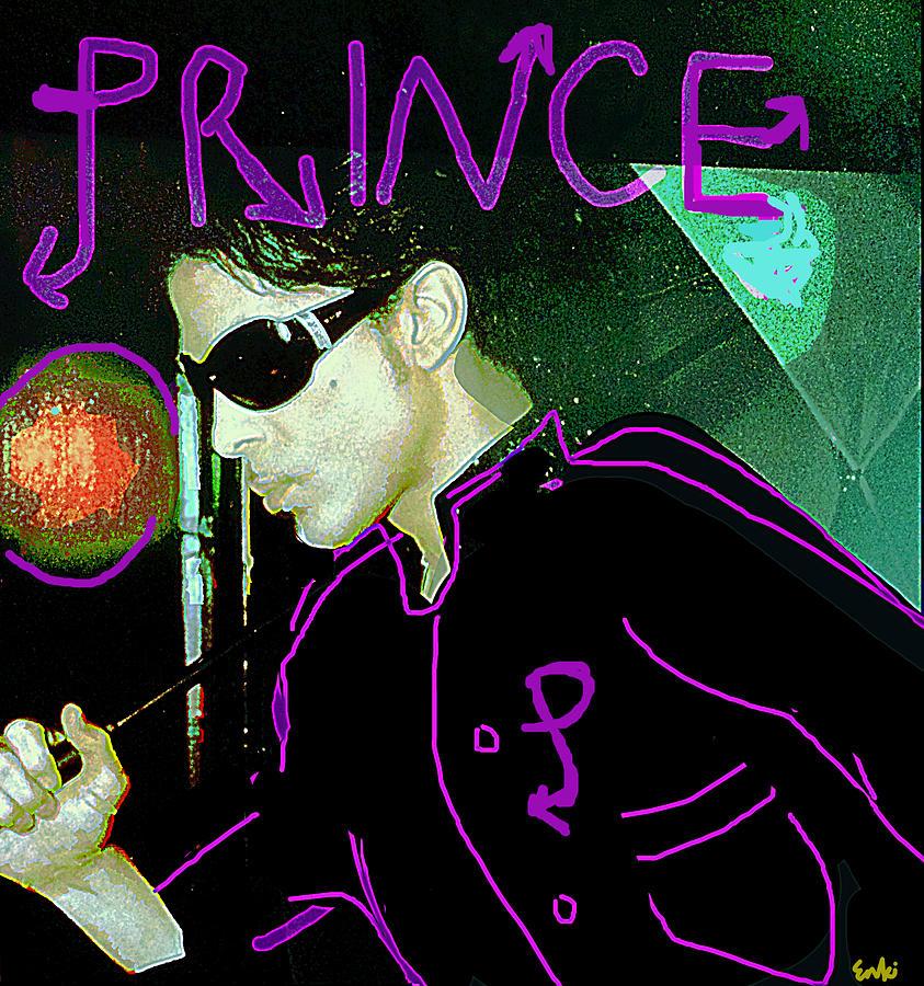 Prince in the Rain  by Enki Art