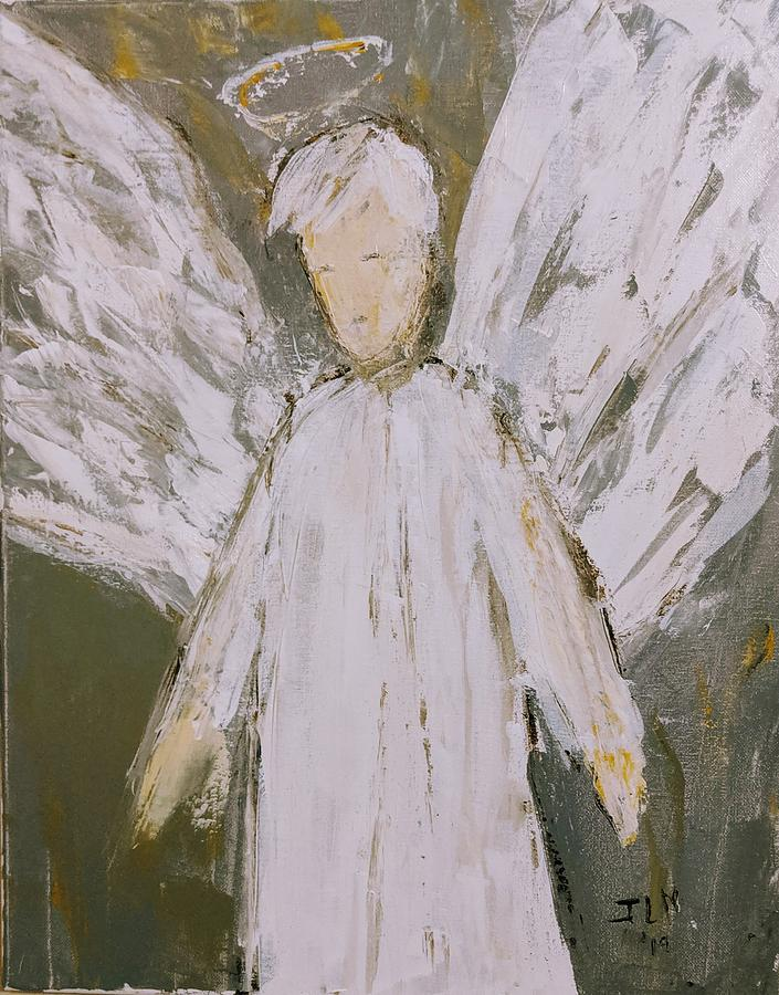 Prince of peace angel by Jennifer Nease