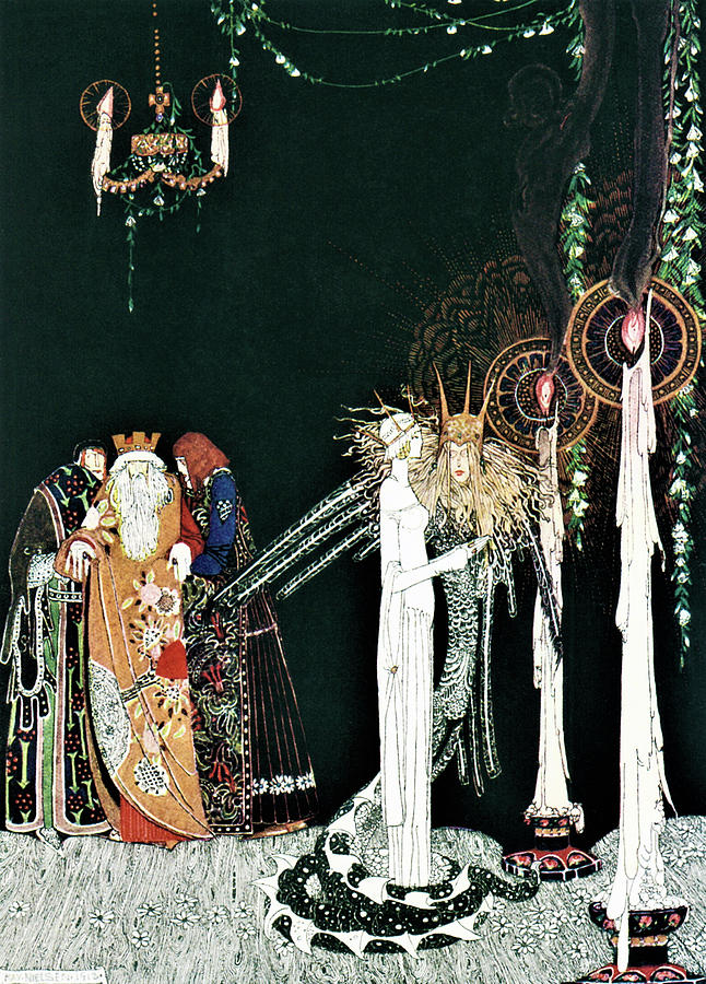 Romance Painting - Prince Of Snake - Digital Remastered Edition by Kay Nielsen