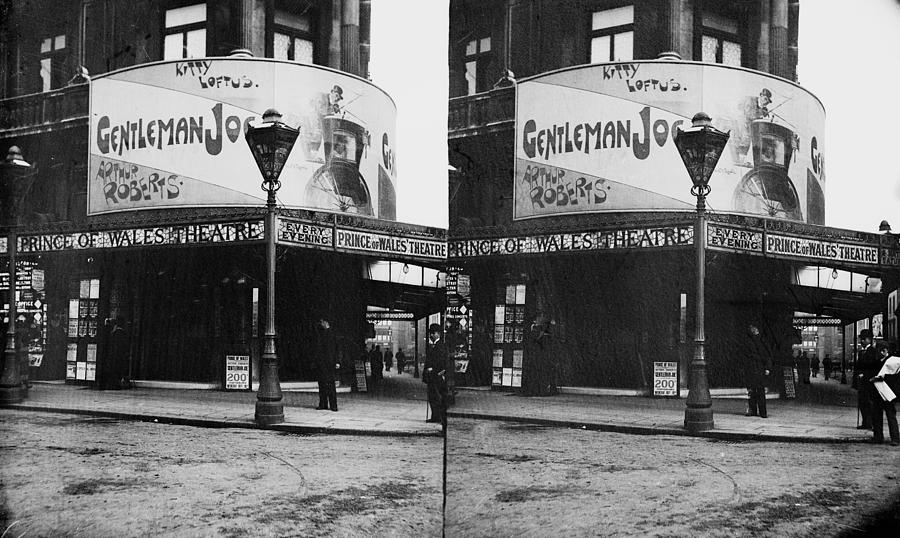 Prince Of Wales Theatre Photograph by London Stereoscopic Company
