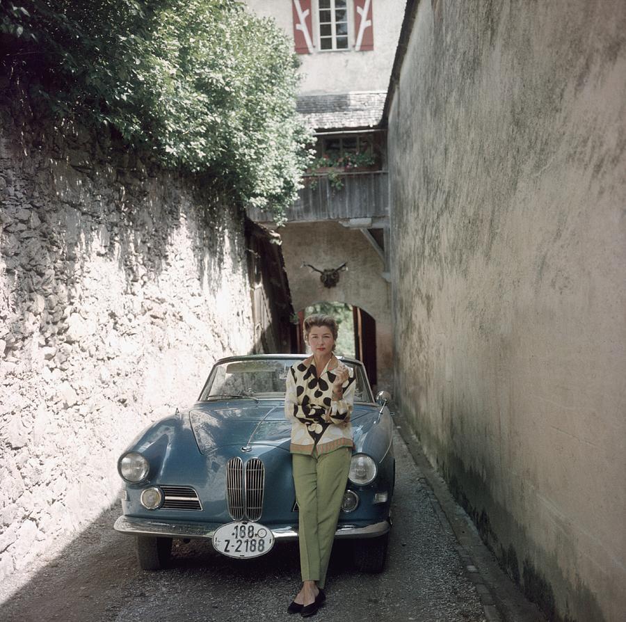 Princess Alexander Hohenlohe Photograph by Slim Aarons