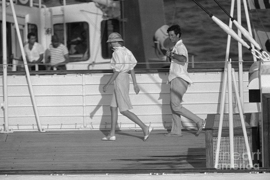 Princess Diana And Prince Charles Photograph by Bettmann