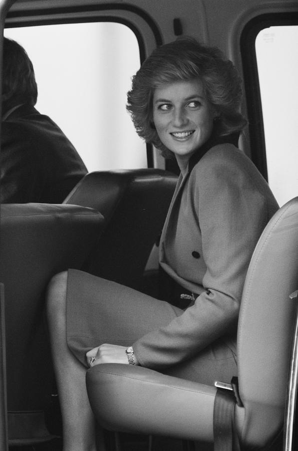 Princess Diana Photograph by John Downing