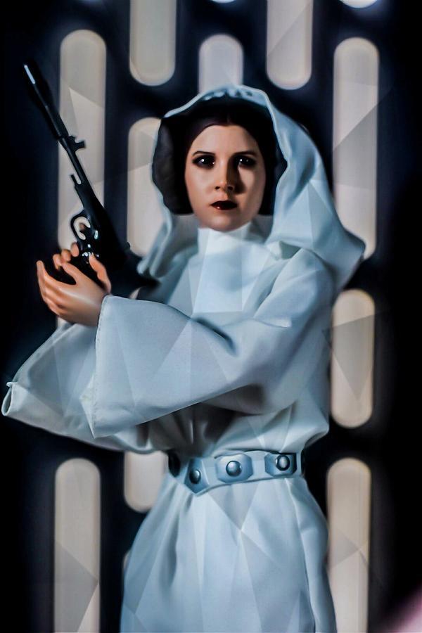 Princess Leia Digital Art By Jeremy Guerin