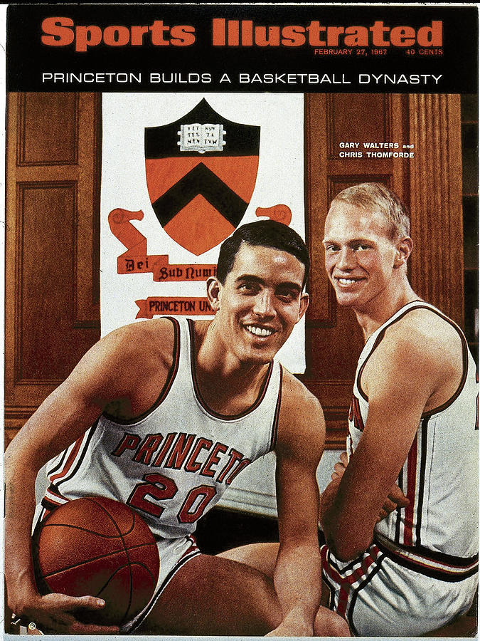Princeton Gary Walters And Chris Thomforde Sports Illustrated Cover Photograph by Sports Illustrated