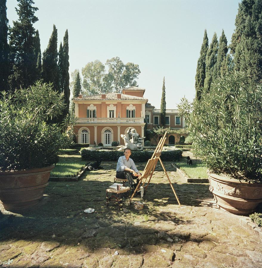 Principe Enrico Dassia Photograph by Slim Aarons