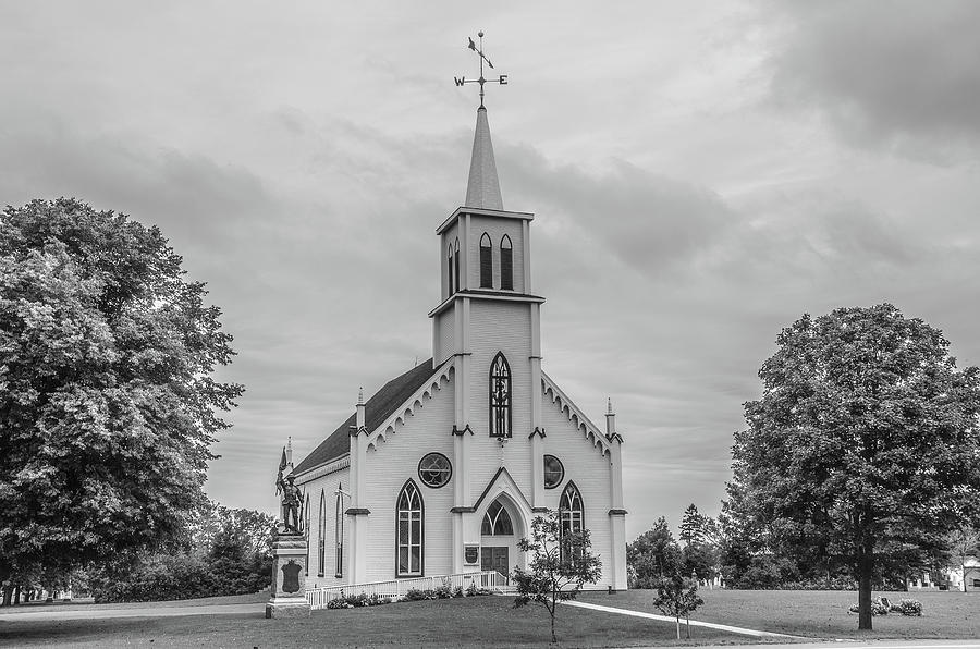 Princetown United Church by Douglas Wielfaert