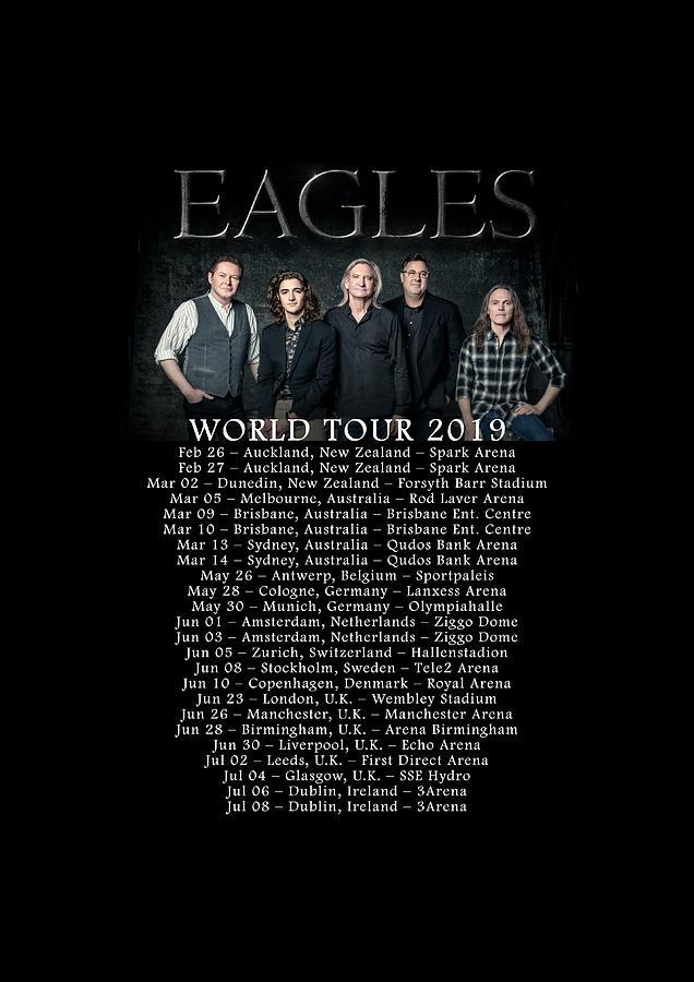 Prints The Eagles Band World Tour Dates 2019 Wg66 Digital ...