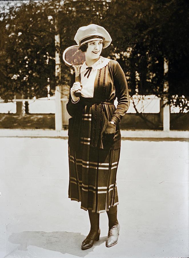 Priscilla Dean In Tennis Outfit by Carlos Diaz