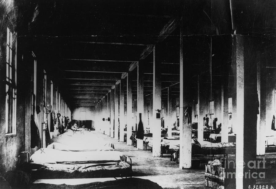 Prison Hospital Ward Photograph by Bettmann