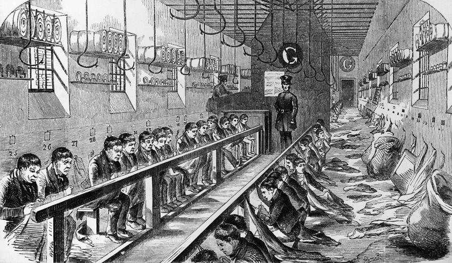 Prisoners At Millbank Photograph by Hulton Archive