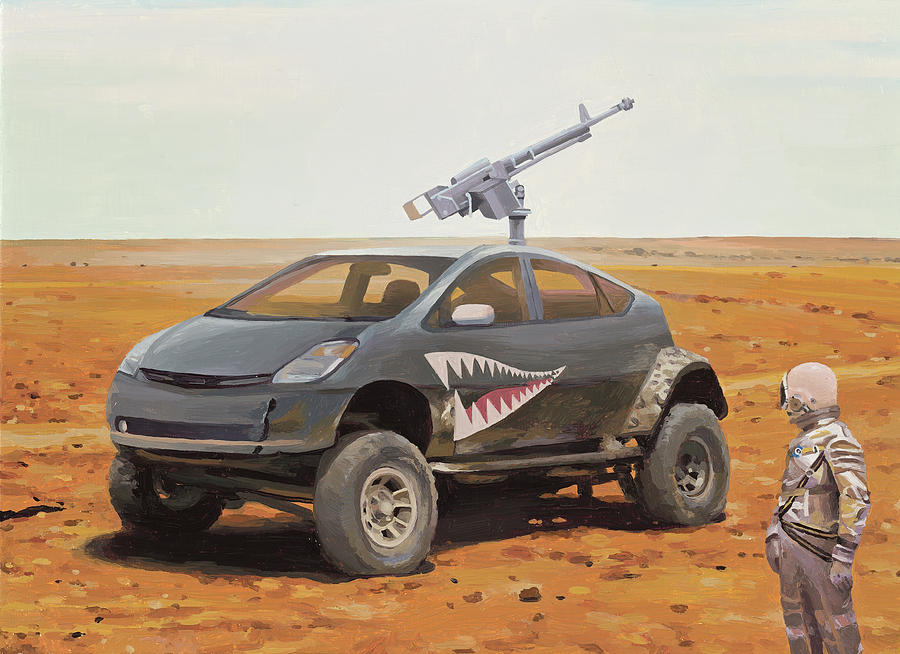 Prius Road Machine by Scott Listfield