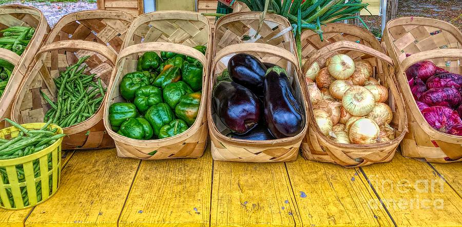 Produce Stand by Paulette Thomas