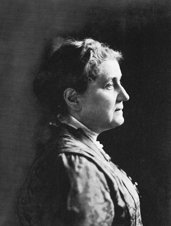 Profile Of Jane Addams Photograph by Hulton Archive