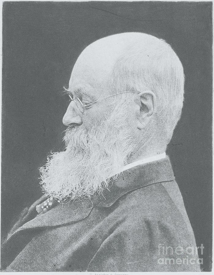 Profile Portrait Of Newspaper Editor Photograph by Bettmann