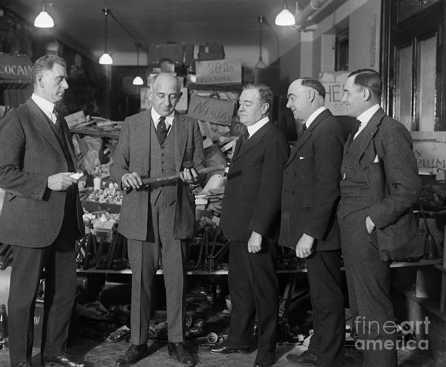 Prohibition Officials Conversing Photograph by Bettmann