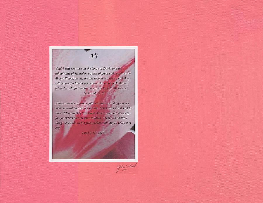 Prophesy and Fact VI by Yolanda Redd