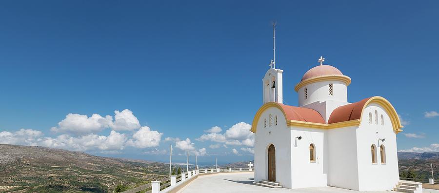 Prophet Elias Church, Crete Photograph by Saro17