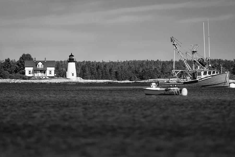 Prospect Harbor Point Light by Todd Henson