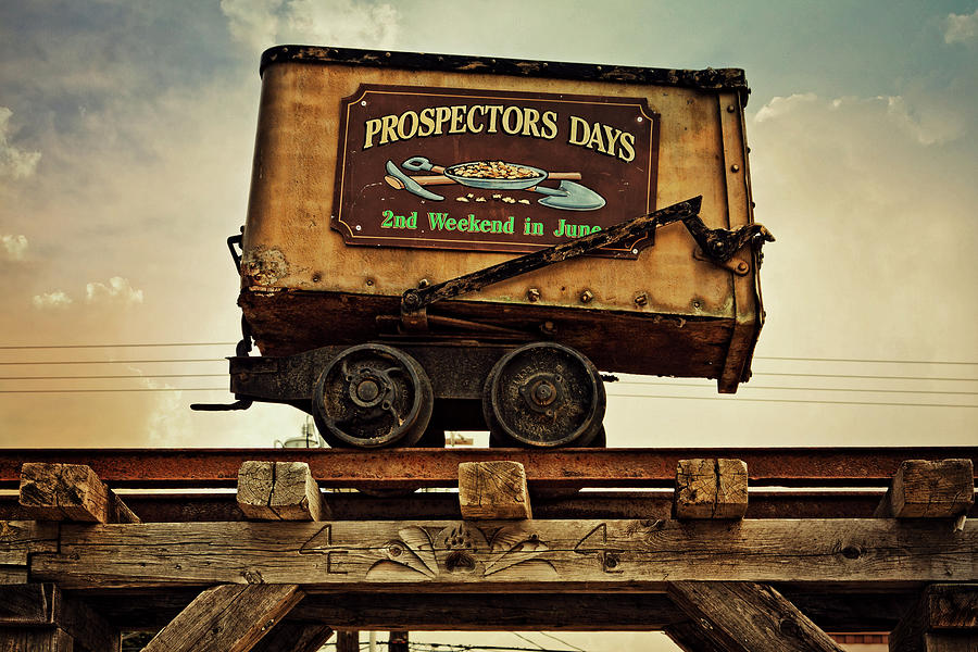 Prospectors days Republic Washington sign by Tatiana Travelways