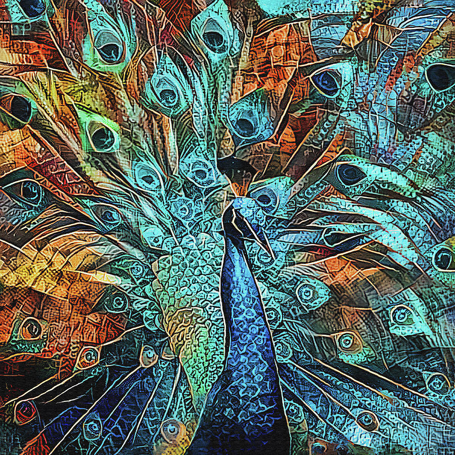 Proud Peacock by HH Photography of Florida