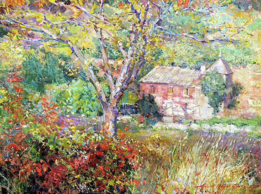 Provence Farm House Painting