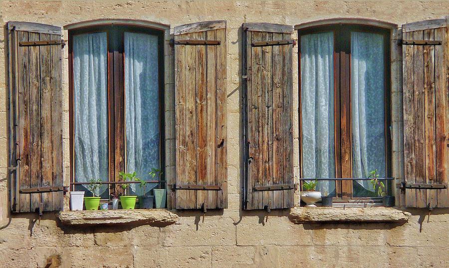 Europe Digital Art - Provence Windows by Scott Waters