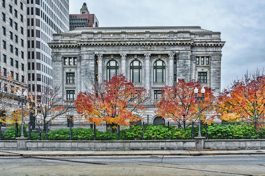 Providence Federal Building by Sharon Popek