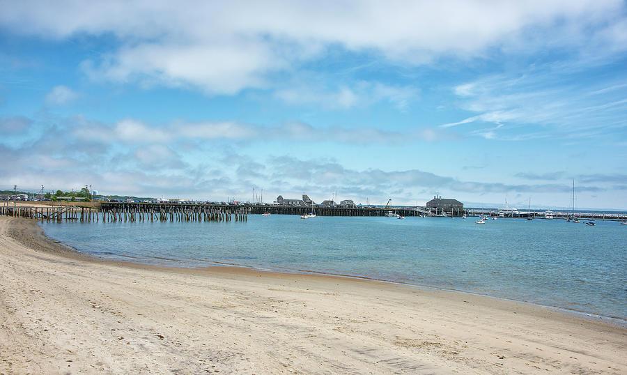 Provincetown Photograph - Provincetown Harbor - Massachusetts  by Brendan Reals