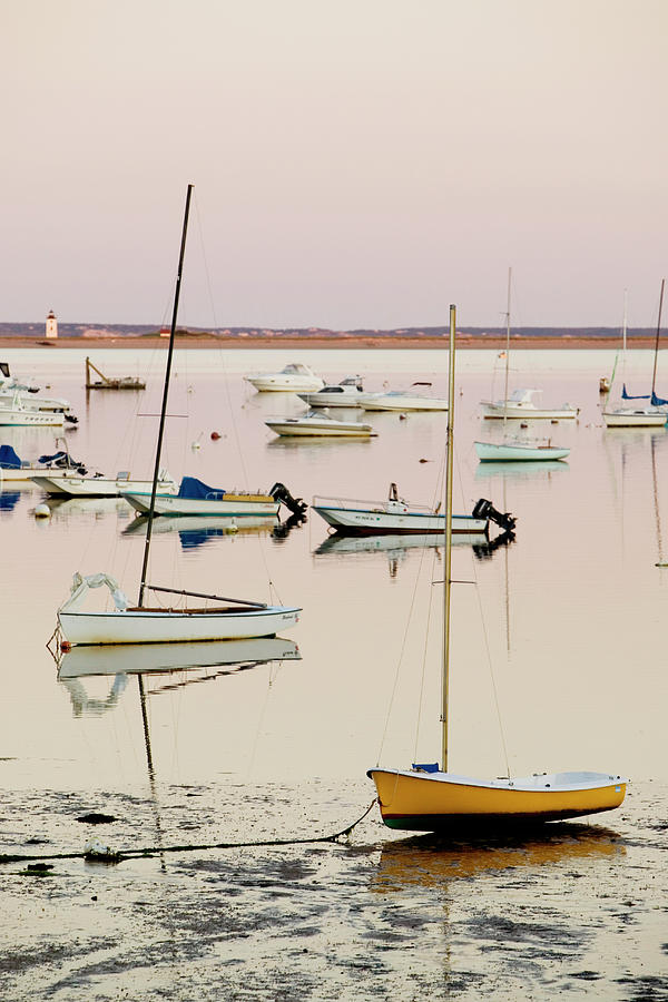 Provincetown Harbor Photograph by Walter Bibikow