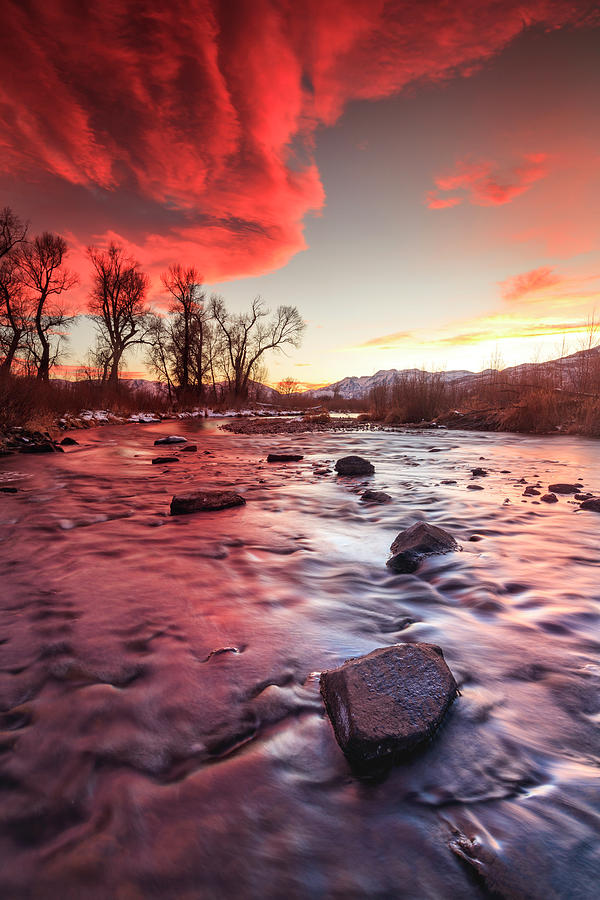 Provo River Vertical Burner by Johnny Adolphson