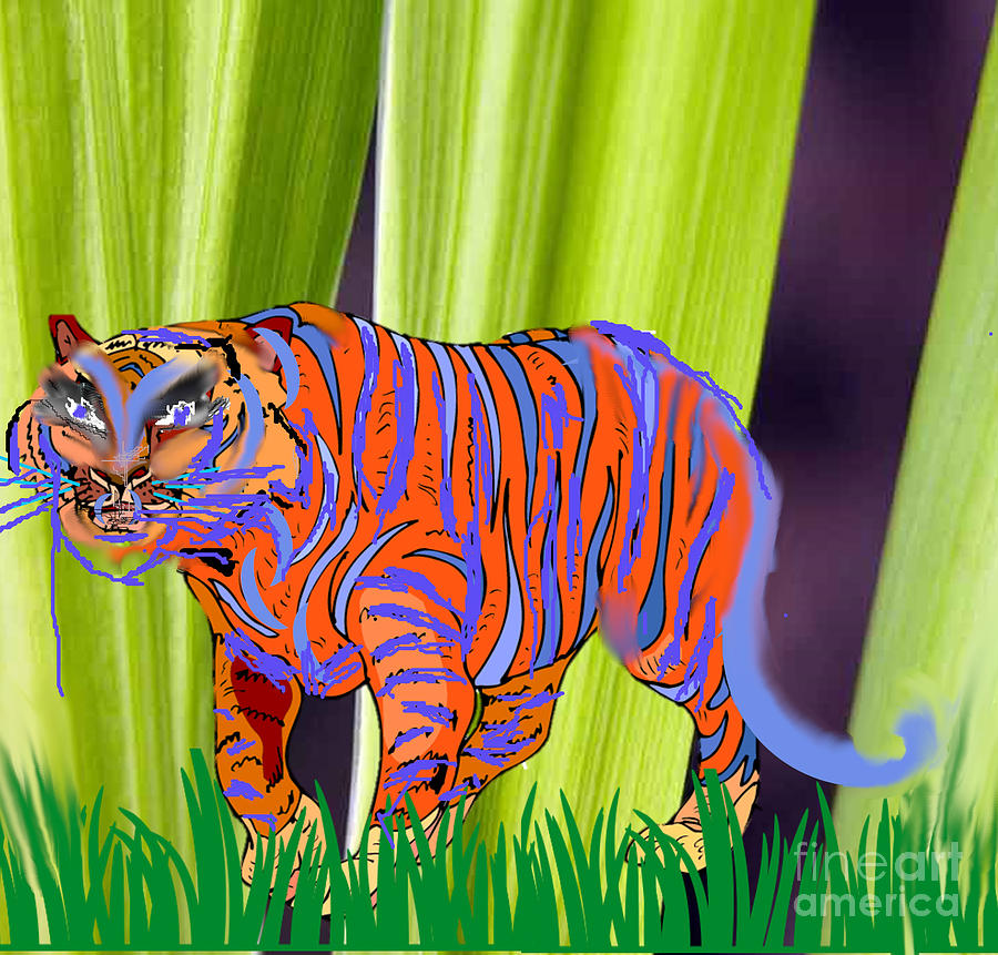 Prowling Painting
