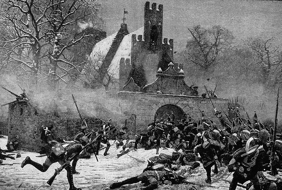 Prussian Assault At Leuthen In Seven Photograph by Kean Collection