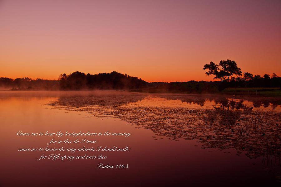 Psalm 143-8 by Michael Peychich