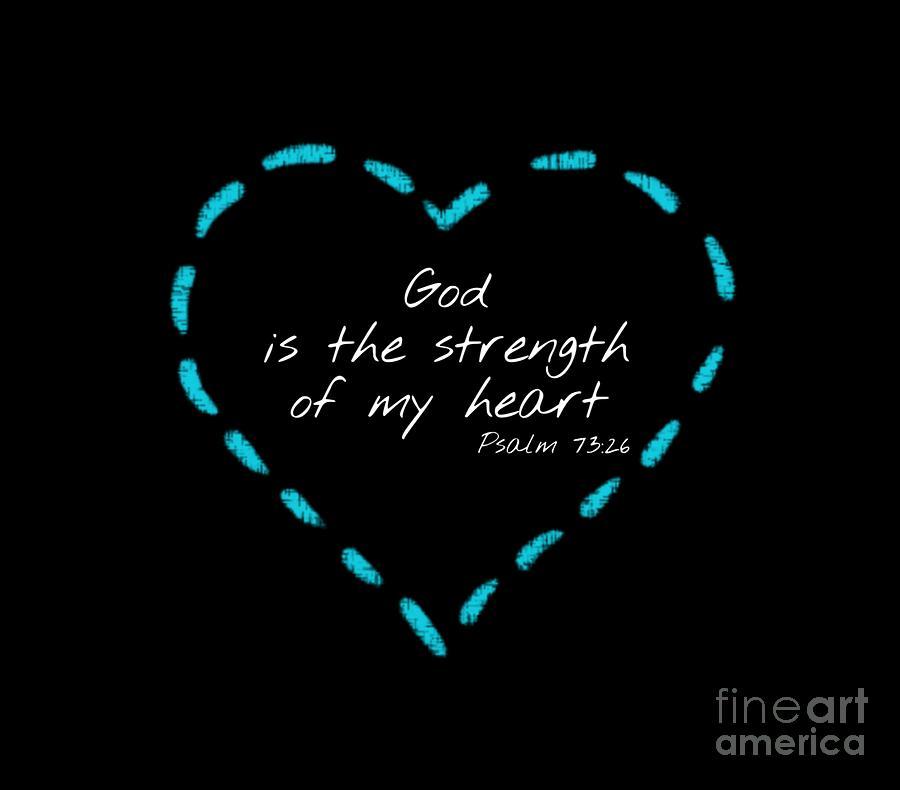 Psalm 73 by Jessica Eli
