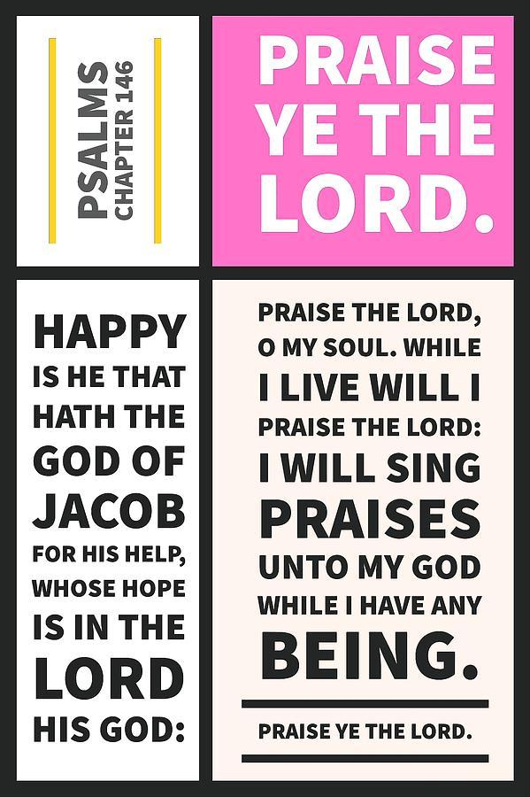 Psalms chapter 146 by Payet Emmanuel